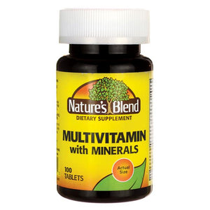 Nature's Blend Multi-Vitamin with Minerals