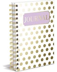 Journal: Gold Dot Hardcover