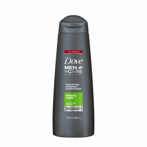 Dove - MEN+CARE FRESH & CLEAN FORTIFYING 2-IN-1 SHAMPOO
