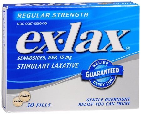 Ex-Lax Pills Regular Strength (1 Pack)