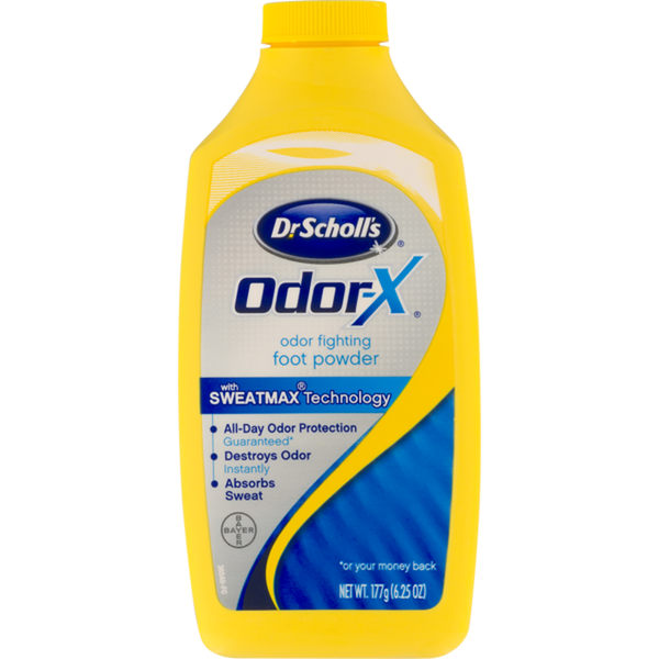 Dr. Scholl`s Odor Destroying All Day Powder 6.25 oz