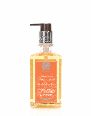 ANTICA FARMACISTA - 10OZ HAND & BODY WASH ORANGE BLOSSOM, LILAC & JASMINE