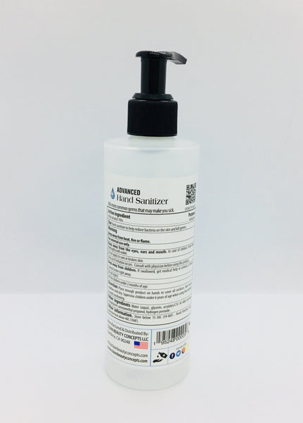 Pro Sanitizer - Advanced Hand Sanitizer 8 oz