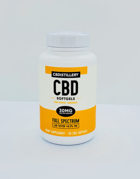 Full Spectrum CBD Softgels - 30mg - 30 Count