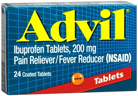 Advil 200 mg Coated Tablets (1 Pack)