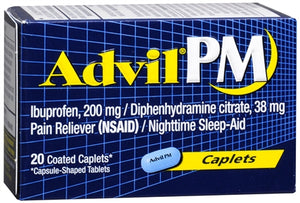 Advil PM 200 mg Coated Caplets (1 Pack)