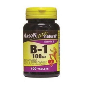 Mason Vitamins Mason Naturals Vitamin B-1 100 Mg Tablets