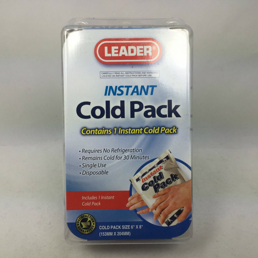 Leader Instant Cold Pack 1 Count