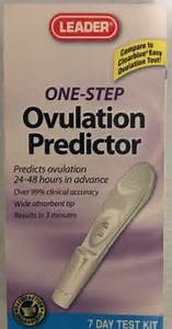 Leader One Step Ovulation Predictor 7 Day Kit