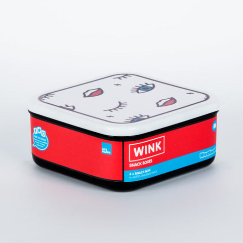 WINK SNACK BOXES