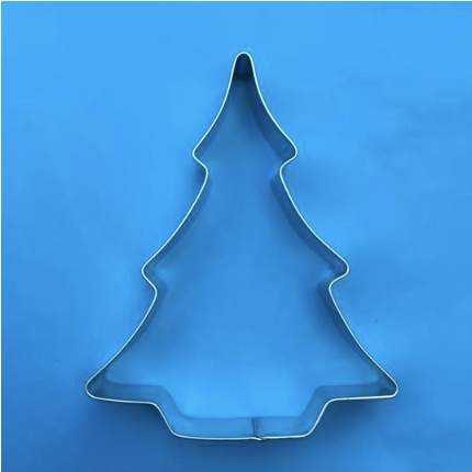 A  Christmas Tree 12.5 cm   Cookie Cutter Made in Australia.