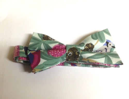 Bow Tie  Bankisa and Birds Unique Limited Edition By Rocklilywombats