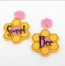 Load image into Gallery viewer, Sweet Bee Dangles Earrings  by Daisy Jean
