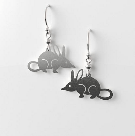 Bilby Earrings allegria design Rocklilywombats