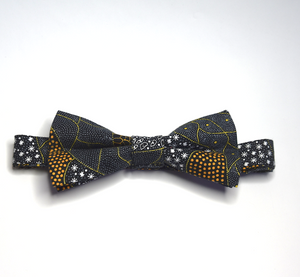 Bow Tie Merry Wildflower Dreaming  Unique Limited Edition By Rocklilywombats