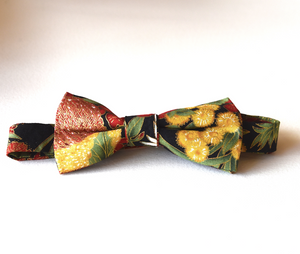 Bow Tie  Golden wattle  Unique Limited Edition By Rocklilywombats