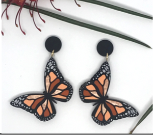 Butterfly Dangles  by Mox + co  limited edition