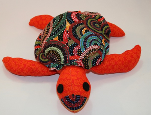 Cindy Sea Turtle toy ready for soft release to loveing home suitable under 3 yrs