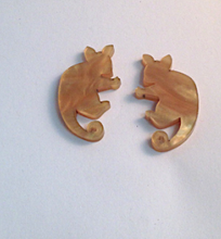 Load image into Gallery viewer, Heavenly Creatures Ringtail Possum studs By Dianna