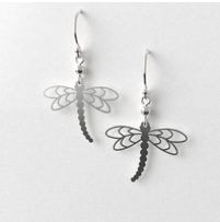 Dragon fly earrings allgeria rocklilywombats