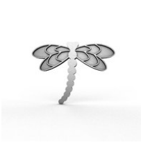 Dragon fly pin rocklilywombats