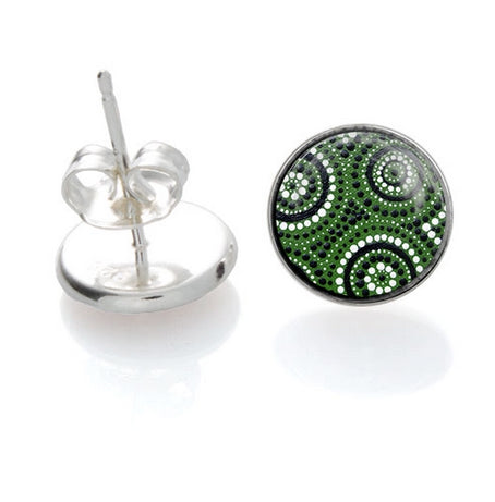 Waterholes  stud Earrings - Allegria