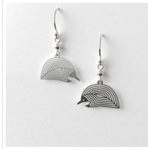 Echidna earrings allegria rocklilywombats