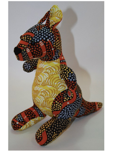 Elly Wallaby toy ready for soft release to loveing home