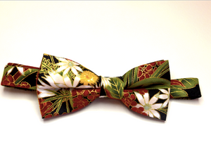 Bow Tie  Flannel Flower  Unique Limited Edition By Rocklilywombats