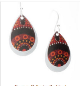 Gathering Bushfood Earrings  - Allegria