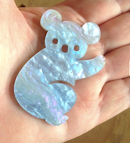 Heavenly  Koala Brooch By Dianna