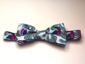 Bow Tie  Kingfisher Unique Limited Edition By Rocklilywombats