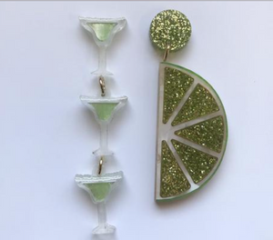 Lime and Margarita Dangles  by Mox + co