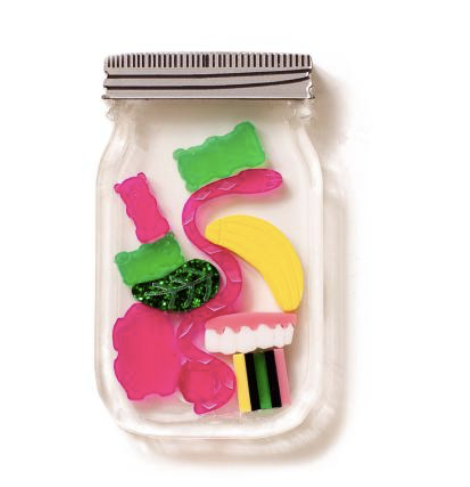 Lolly Jar Brooch  By Martini Slippers