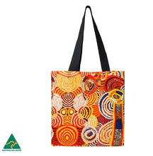 Load image into Gallery viewer, Nora Davidson Aboriginal design Tote Bag, made in Australia