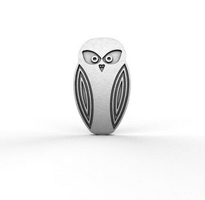 Owl pin allegria rocklily wombats