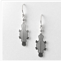 Platypus earrings allegria rocklilywombats