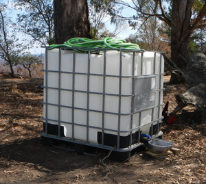 SOLD OUT Remote water feeders for drought effected wildlife and fire effected wildlife.