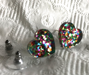 37 different stud Earrings  by Rocklilywombats