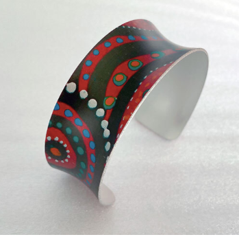 Swimming after Rain  Bangle  - Allegria