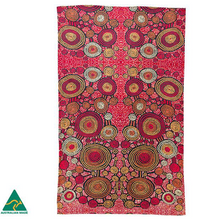 Load image into Gallery viewer, Teddy Gibson Aboriginal design tea towel, made in Australia