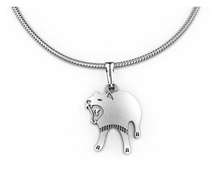 Load image into Gallery viewer, Tasmanian Devil pendant necklace allegria rocklilywombats