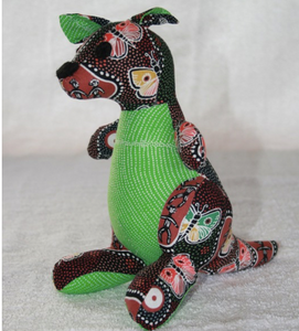 butterfly girl Wallaby  toy ready for soft release to loveing home