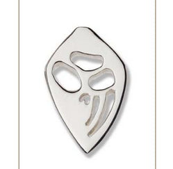 Echidna Silver Footprint Lapel-Pin  Bushprints