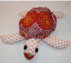 Elle Sea Turtle toy ready for soft release to loveing home suitable under 3 yrs