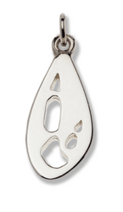 Kangaroo Silver Footprint Pendant – Bushprints