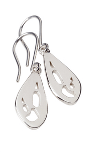 Kangaroo Silver Footprint Earrings – Bushprints