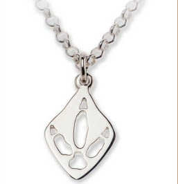 Emu Silver Footprint Necklace – Bushprints