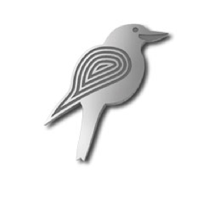 Kookaburra Pin - Allegria Designs