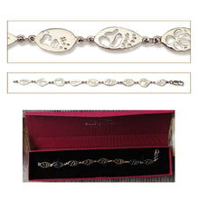 Load image into Gallery viewer, Bracelet Sterling Silver 8 Footprints - Bushprints